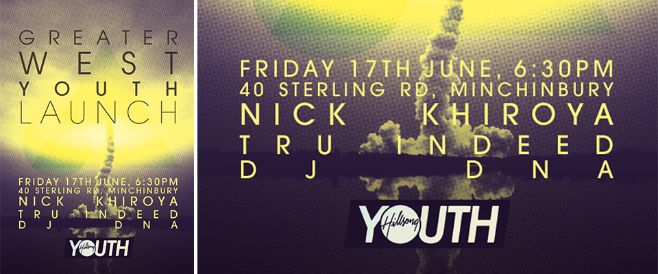Hillsong GWS Youth Poster