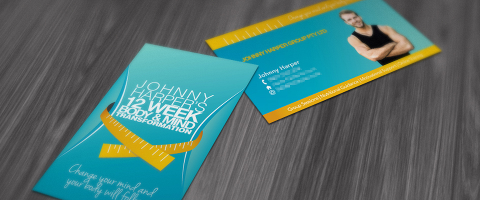 Johnny Harper business cards